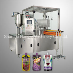 Wine Cocktail Filling Machine for Spouted Pouch pictures & photos