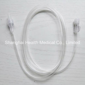 Disposable Medical Extention Tube with Luer Lock Fitting