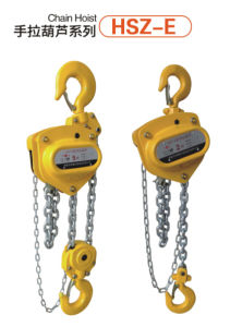 Popular Hsz Serial Lifting Chain Hoist