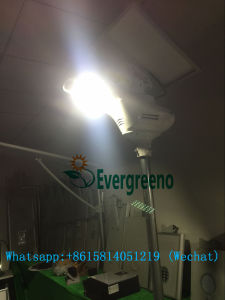 White Dove Series Solar Street Lighting System with Lithium Battery pictures & photos