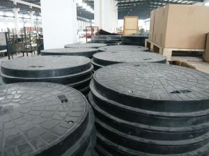 Circle Manhole Cover/FRP Trech Cover/Building Material/Fiberglass pictures & photos