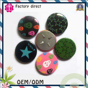Foshan Factory Pin Button Suit Badges with Logo pictures & photos