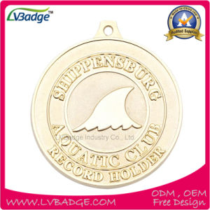 High Quality Souvenir Medal with Gold Plating pictures & photos