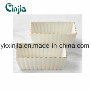 Bakeware Ceramic Ruffled Baker Set-Xjt58 pictures & photos