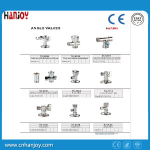 Brass Body Water Angle Valve with Filter(NV-3011) pictures & photos