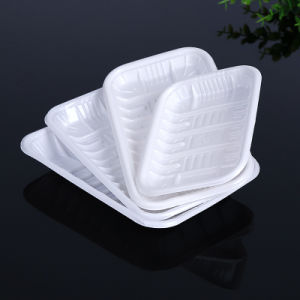 disposable food packageing plastic blister vegetable tray(PP tray) pictures & photos
