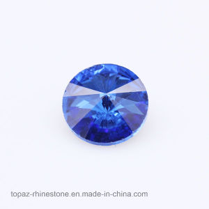 Crystal Lized K9 Glass Rhinestone Rivoli 14mm Point Back Chaton (PB-Rivoli 14mm) pictures & photos