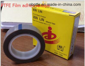 Fiberglass Coated PTFE Adhesive Tape with Released Paper pictures & photos