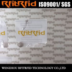 860-960MHz Anti-Tearing Temper Proof RFID Tags for Goods