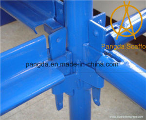China Top Quality Painted Kwikstage Scaffolding System pictures & photos