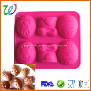 Factory Wholesale Easter Egg Silicone Bakeware