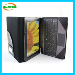 Crazy Horse Leather Bluetooth Keyboard Holster for Asus TF201 pictures & photos