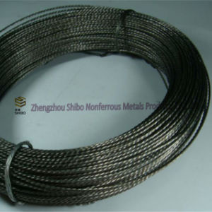Twisted Tungsten Wires, Hot Sale 99.95% Stranded Tungsten Wire pictures & photos