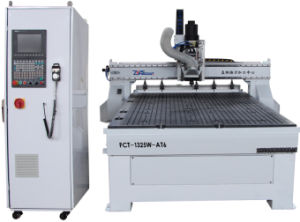 Wood Door (FCT-1325W-AT) CNC Atc Carving Router pictures & photos