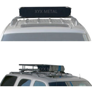 Black Steel Roof Rack Tent Roof Basket for Baggage pictures & photos
