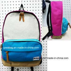 Fashion School Kid with Cotton Business Backpack Sport Travel Casual Promotional Bag (#20017) pictures & photos