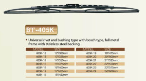 Car Wiper Blade, Universal Wiper Blade pictures & photos