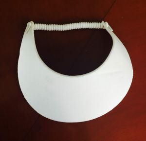 Athletic Visor with Elastic Twisted Strap Closure pictures & photos