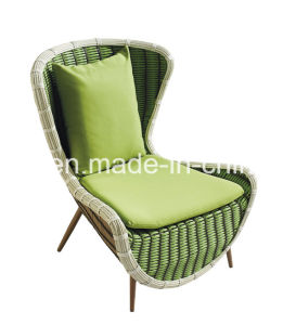Waterproof UV Against Rattan Sofa Set Garden Sofa Set with Stool pictures & photos