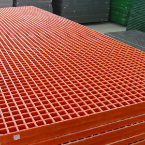 FRP Grating/GRP Grating/Fiberglass Pultruded Grating for Platform pictures & photos