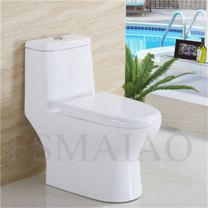 Bathroom Sanitary Wares Ceramic One Piece Toilet (8109) pictures & photos
