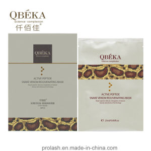 Anti-Wrinkle Facial Mask QBEKA High Demand Snake Venom Firming Silk Mask Anti-Aging pictures & photos