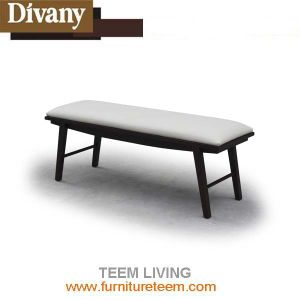 Modern Home Furniture Wooden Fabric Bed End Stool pictures & photos