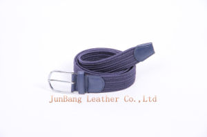 Unisex Fashion Sports Leisure Jeans Stretch Woven Elastic Belt pictures & photos