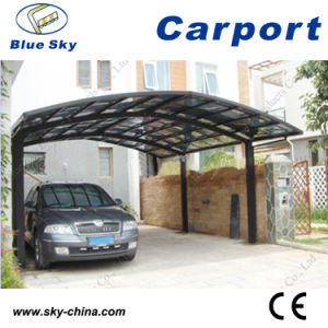 Fiberglass Roof Aluminum Car Shelter (B800) pictures & photos
