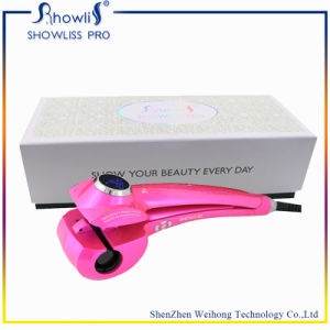 Ceramic Hair Curler with LCD Display Automatic Hair Curler pictures & photos