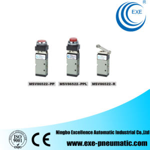 Exe Pneumatic Solenoid Valve Machanical Valve Msv86522-PP, Msv86522-Ppl, Msv86522-R pictures & photos