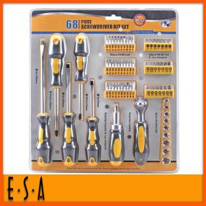 2014 New Repair Screwdrivers for Home, Popular Repair Screwdrivers Kits, Soft Rubber Handle Repair Screwdrivers Bit Set T18A022 pictures & photos