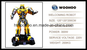Outdoor Playground Welcoming Robot Transformers Bumbkebee pictures & photos