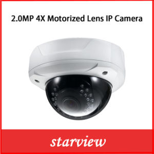 2MP 1080P 4X Motorized Lens Network IP Camera pictures & photos