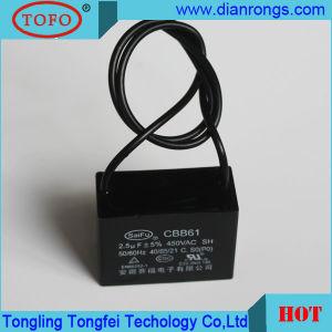 Metallized Film Cbb61 Capacitor 450VAC 440VAC 2UF Made in China pictures & photos