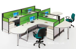 Small Office Room Office Green Office Workstation Partition (HF-YT60304) pictures & photos