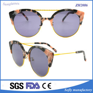 2016 New Style Girls Popular Fashion Acetate Sunglasses pictures & photos