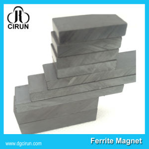 Custom Size Block Motor Hard Ferrite Magnet pictures & photos
