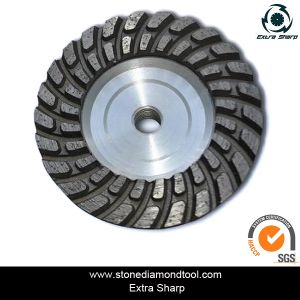 Single Row Cup Wheel for Stone Grinding pictures & photos
