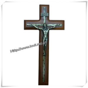 Wood Design Wall Hanging Crucifix (IO-ca008) pictures & photos