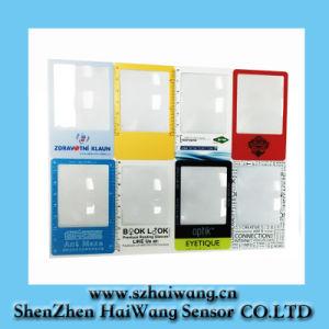 Factory Price Credit Card Size Magnifier (HW-803) PVC Magnifier Lens Card pictures & photos