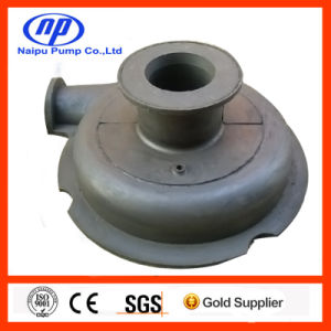 2/1.5 B-Ahr Rubber Liner Slurry Pump Cover Plate Liner (B15017) pictures & photos