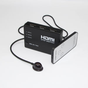3X1 HDMI Switcher with Remote Control pictures & photos