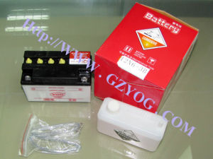 Yog Motorcycle Spare Parts Wet Battery Water Mf with Acid Dry Maintenance Free Storage Battery 12n6 12n7 12n14 pictures & photos