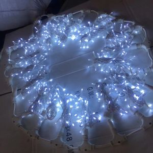 LED Outdoor Christmas Curtain String Lights pictures & photos
