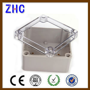 125*125*75 Electric Enclosure Clear Cover Waterproof Plastic Switch Enclosures pictures & photos
