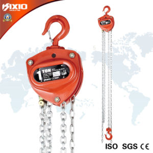 Kixio Building Industrial Manual Chain Block with Overload Clutch (CB03-02) pictures & photos