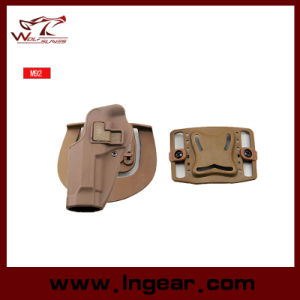 Short Style Blackhawk Military M92 Single Holster Tactical Gun Holster pictures & photos