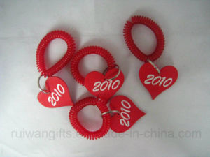 Wholesale Bathroom Spring Bracelet with Identification Numbers. pictures & photos