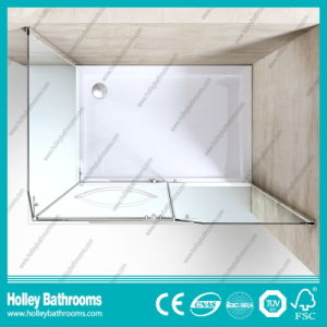 Stainless Steel Hardware Aluminum Waterproof Bar Simple Shower Cabin (SE612C) pictures & photos